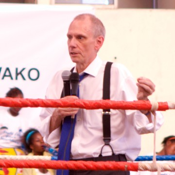 U.S. Ambassador to Kenya, Mr. Robert F. Godec.